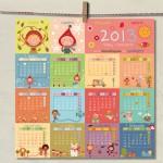 Un calendario de regalo para tus peques