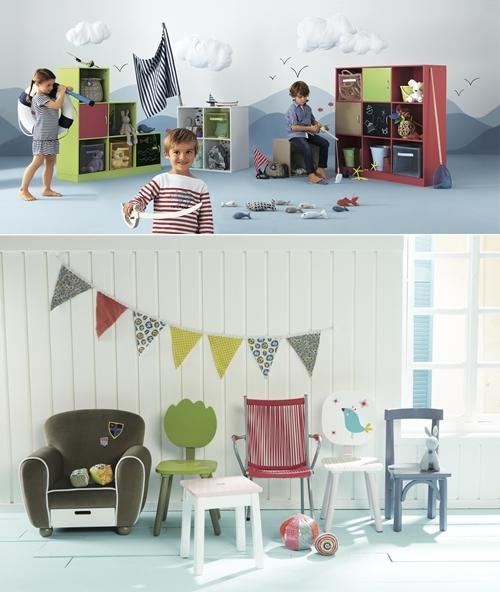 cat logo de decoraci n infantil de vertbaudet decopeques. Black Bedroom Furniture Sets. Home Design Ideas