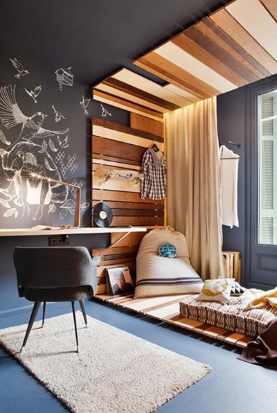 dormitorio juvenil 1 Dormitorio Juvenil de Sopadedos para Casa Decor
