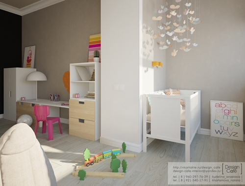 Te suenan los muebles infantiles de esta habitación tan bonita