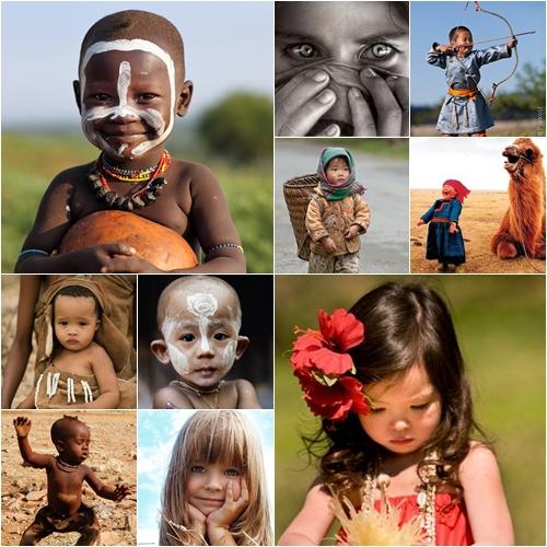 Increible Recopilacion De Fotos De Ninos De Todo El Mundo Que