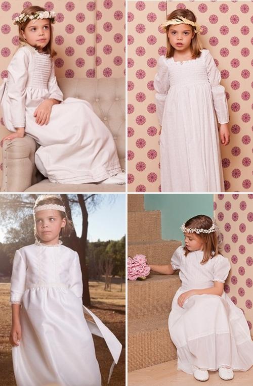 vestidos comunion vestidos de comunion 4 ideas para tu Primera Comunión 2013