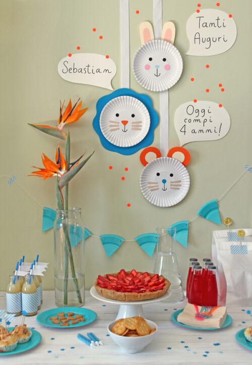 Decoraci n de fiesta infantil express decopeques for Decoracion hogares infantiles