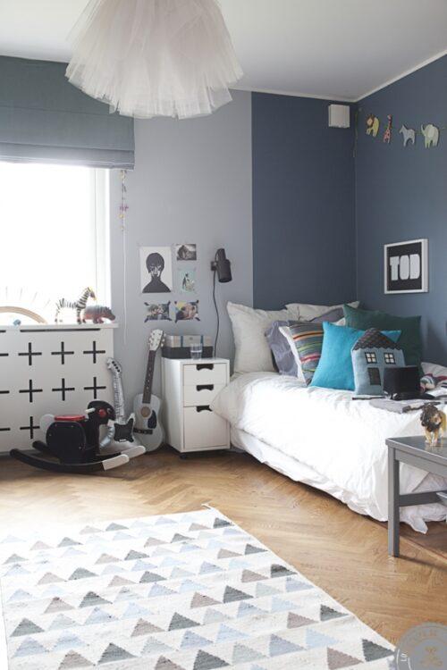 Habitaciones infantiles reales con mucho encanto decopeques for Habitaciones en tonos grises