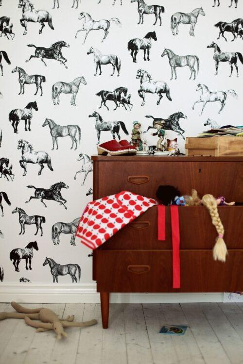 habitaciones infantiles papel pintado 4 500x750 10 Habitaciones infantiles con Papel Pintado