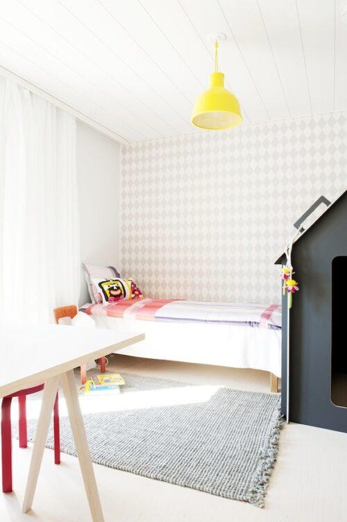 habitaciones infantiles papel pintado 6 500x752 10 Habitaciones infantiles con Papel Pintado