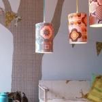 Lámparas Vintage para niños de Inke