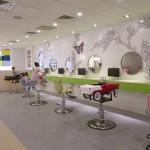 Espacios Cool para Niños.. Peluquería Beehives and Buzzcuts en N.York