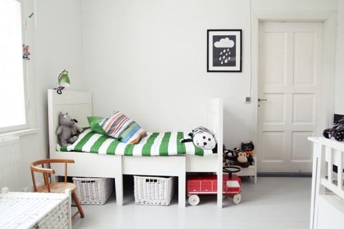 10 habitaciones para ni os con estilo escandinavo decopeques - Habitaciones infantiles estilo nordico ...
