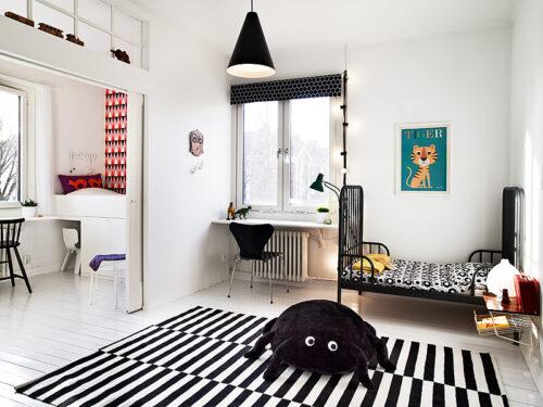 10 habitaciones para ni os con estilo escandinavo decopeques - Habitaciones de ikea para ninos ...