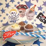 Decoración de Fiestas infantiles con toppers personalizados