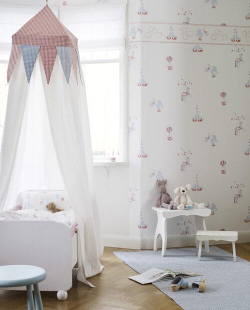 cama dosel sandberg 500x620 Camas infantiles con Dosel