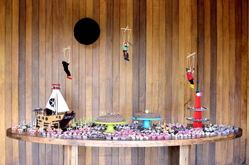 fiesta infantil pirata Manualidades para niños y Fiestas... Estefi Machado desde Brasil