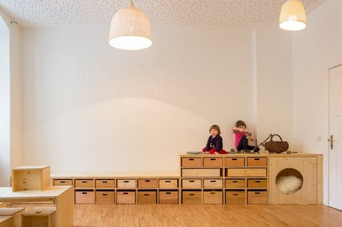Espacios cool para ni os guarder a en alemania decopeques for Decoracion de espacios para ninos