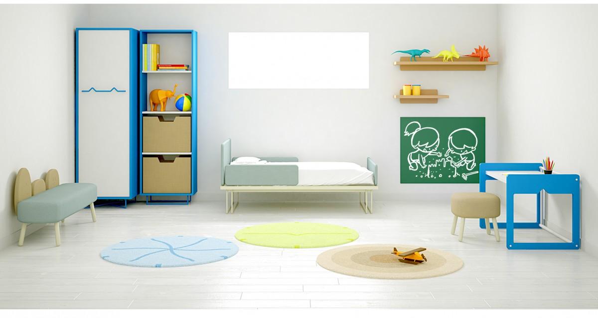 Moti muebles para ni os decopeques for Muebles infantiles para habitaciones pequenas