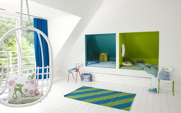 Pinceladas de color en el dormitorio infantil