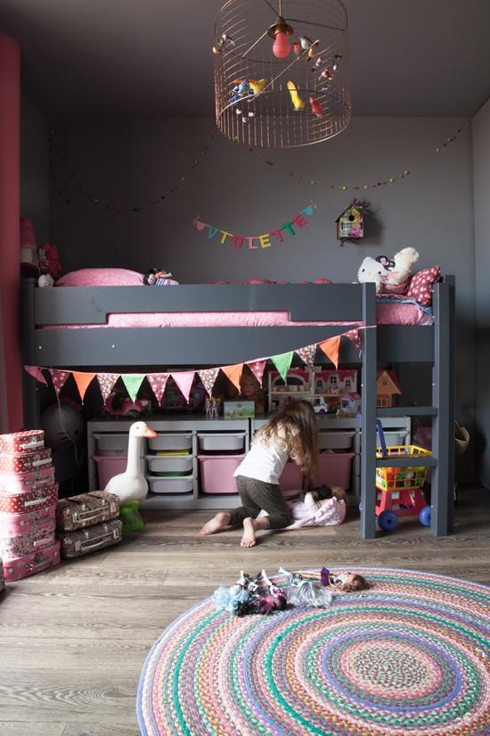habitacion niña bonita litera Dormitorios infantiles muy cool