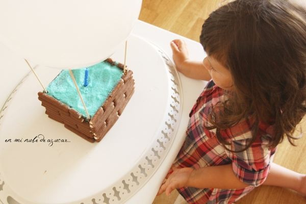 tarta de cumple Tarta Globo... una idea genial para fiestas infantiles