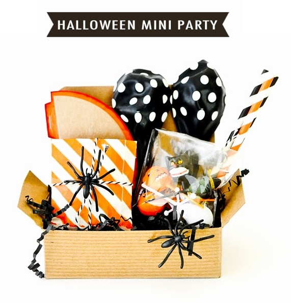 Ideas para una mini party de halloween decopeques - Ideas para fiesta halloween ...