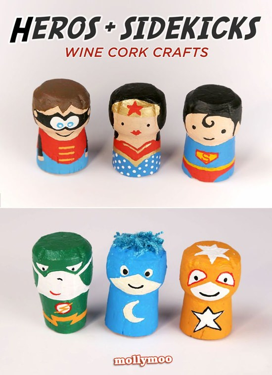 crafts infantiles corcho