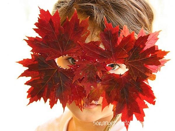 crafts otoño para niños 7 Manualidades con hojas de otoño para niños
