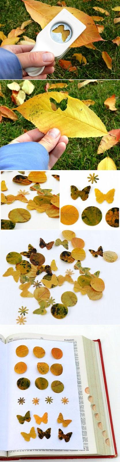 manualidades otoñales con hojas 7 Manualidades con hojas de otoño para niños