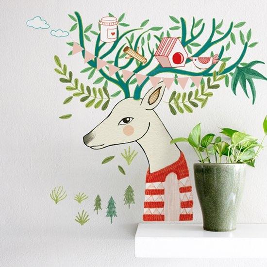 vinilo infantil ciervo-árbol_es-760x760