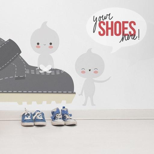 vinilos infantiles apanona shoes