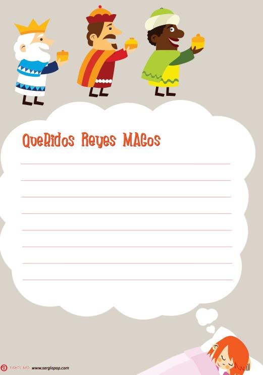 Carta-imprimir-Reyes-Magos-Niña