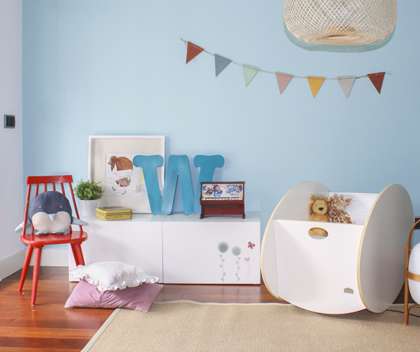 Cunas y moises decopeques for Muebles bebe diseno