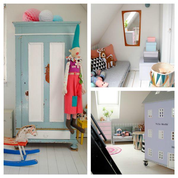 10 habitaciones infantiles llenas de color decopeques - Colores para habitaciones infantiles ...