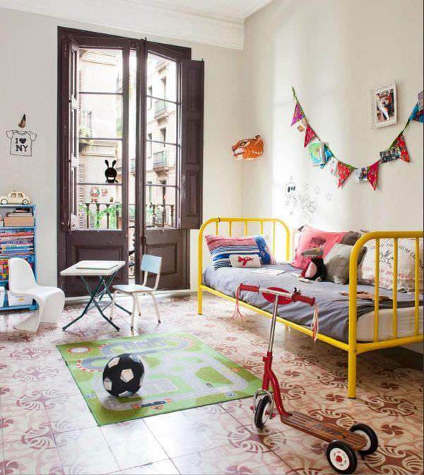 10 habitaciones infantiles llenas de color decopeques - Colores habitaciones infantiles ...