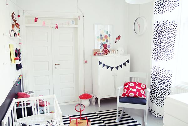 habitación infantil nórdica
