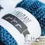 Etiquetas para cosas bonitas hechas a mano ¡Qué detalle!