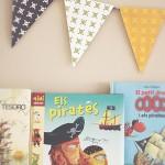 DIY: Como hacer una guirnalda de banderines para la habitación de los niños