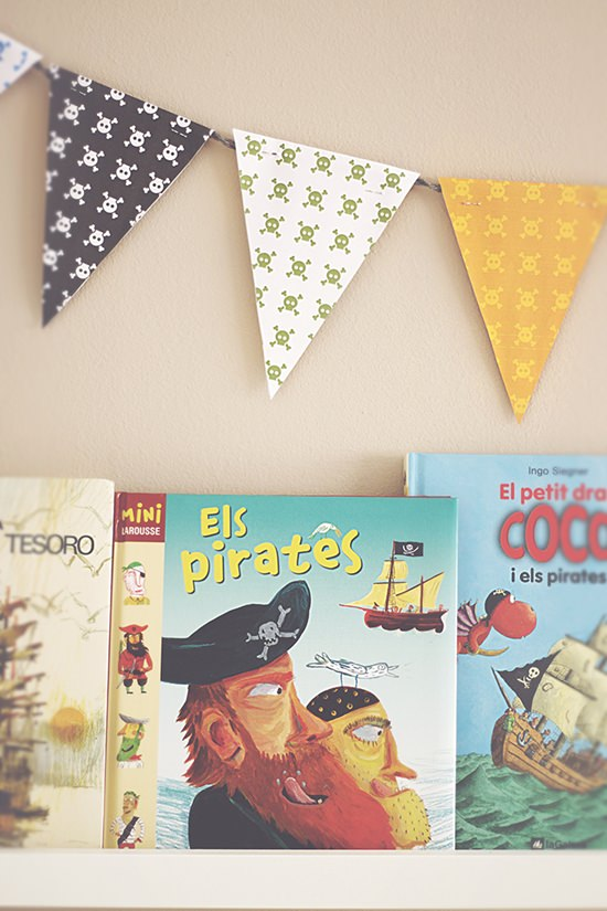 Diy como hacer una guirnalda de banderines para la - Como decorar una habitacion para hacer yoga ...