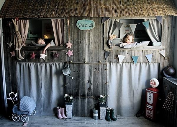 Dormitorio infantil de ensue o decopeques - Dormitorios de ensueno ...
