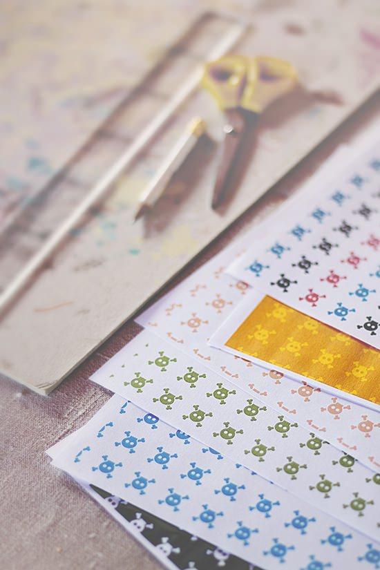 2 Cazadora de inspiración © Anna Tykhonova DIY: Como hacer una guirnalda de banderines para la habitación de los niños