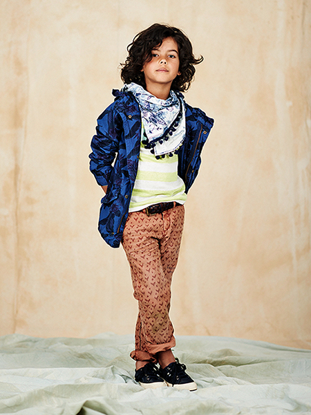 boys lookbook 1 portrait El verano étnico y bohemio de Scotch&Soda Kids