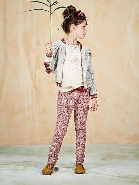 girls lookbook 14 portrait El verano étnico y bohemio de Scotch&Soda Kids