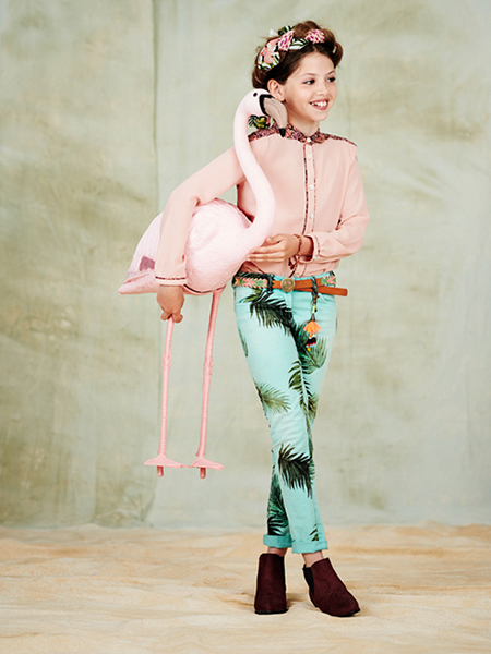 girls lookbook 4 portrait El verano étnico y bohemio de Scotch&Soda Kids