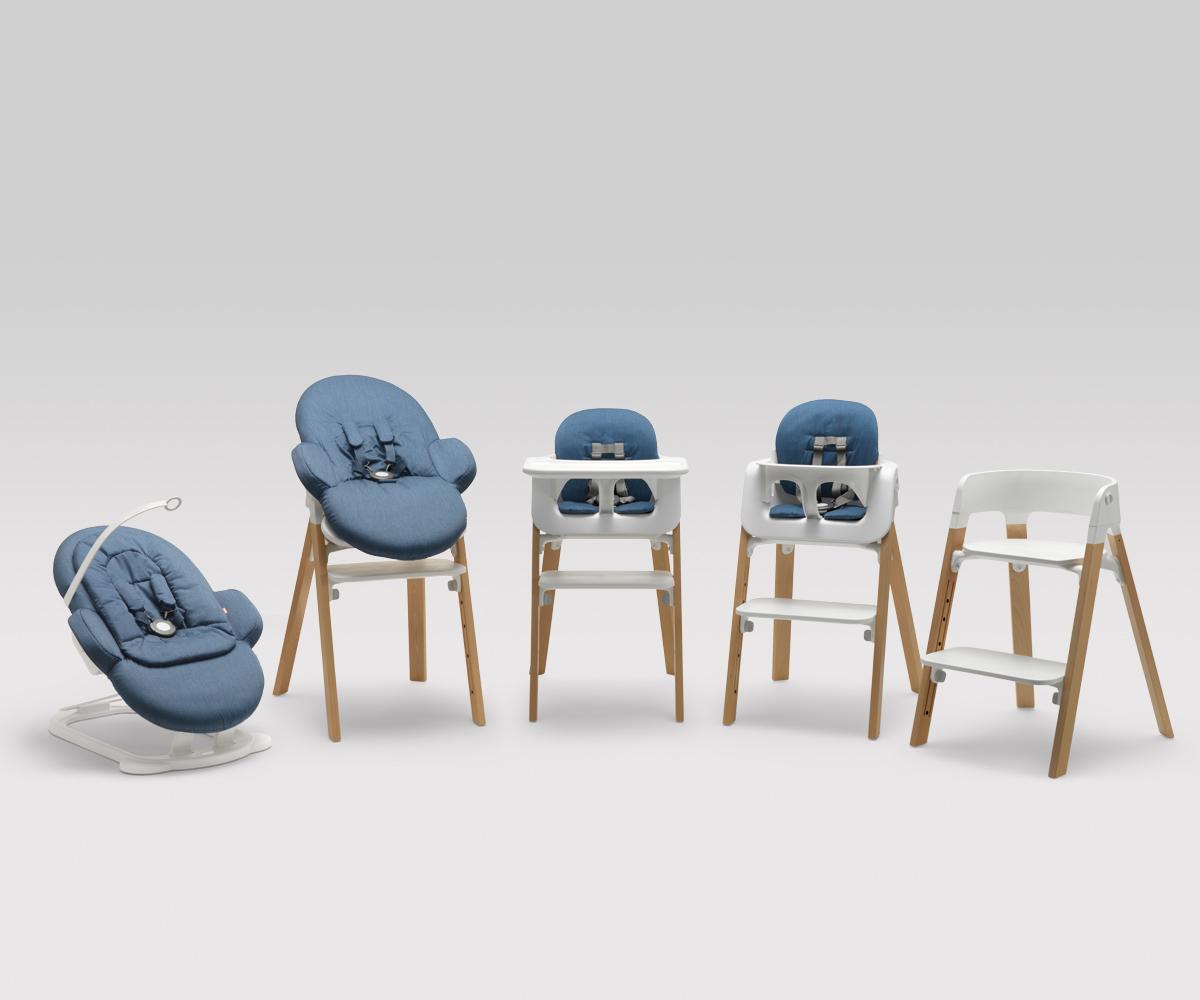 steps la trona modular de stokke decopeques. Black Bedroom Furniture Sets. Home Design Ideas