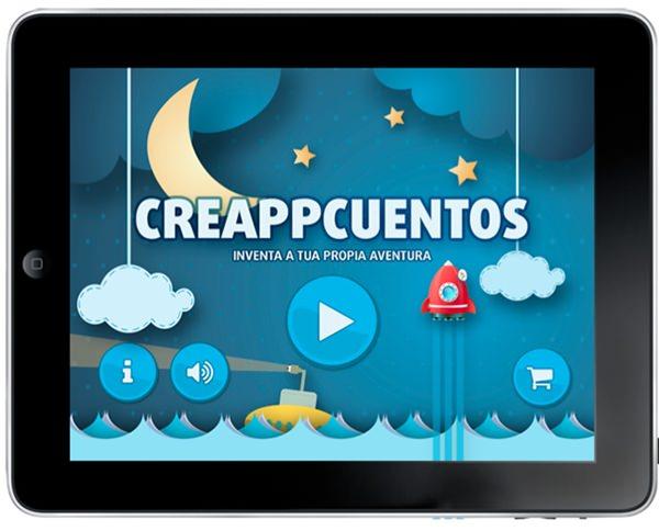 Creappcuentos, la App para crear cuentos… ¡Nos encanta!
