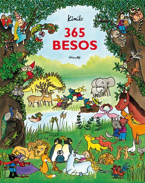 libros juveniles-besos-365-besos-