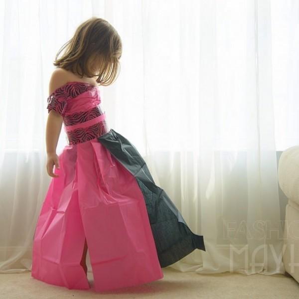 vestido-pasarela-papel-niña