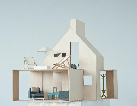 Casas de muñecas modernas