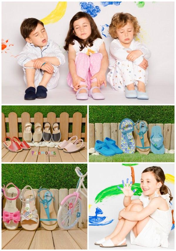 Pisamonas Zapatos infantiles