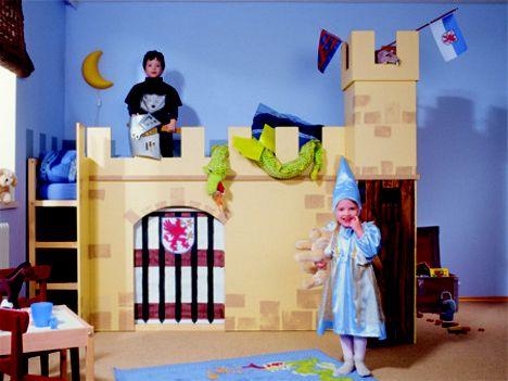 cama castillos Ikea