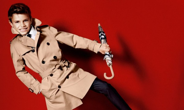 Romeo Beckham in Burberry spring/summer 2013 campaign
