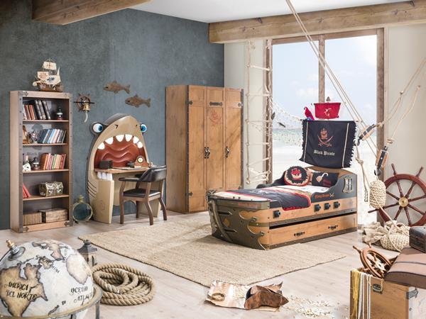 Cilek, dormitorios infantiles temáticos – Habitación pirata.
